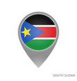 south sudan point vector image