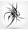 Tribal tattoo abstraction vector image vector image