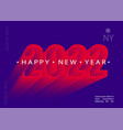2022 happy new modern brochures greeting cards vector image