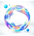 Abstract colorful sphere image vector image vector image
