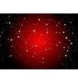 Dark red polygonal communication background vector image vector image