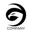 eagle g letter logo vector image vector image