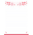 printing paper note optimal a4 size vector image