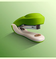 realistic of stapler office vector image