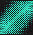 retro abstract halftone square pattern background vector image vector image