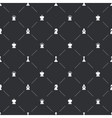 Seamless pattern with white chess icons for book vector image vector image