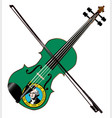 washington state fiddle vector image