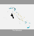 bahamas map flag