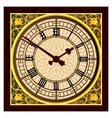 Big Ben at Clock Face vector image vector image