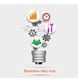 Business idea icon vector image vector image