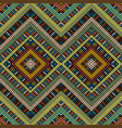 colored african geometrical motifs background vector image vector image