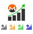 Monero growing chart icon