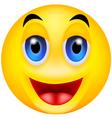 smile emotion vector image vector image