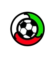 Soccer sign vector image