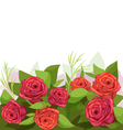 spring bouquet vector image vector image