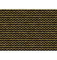 Gold glitter dots zigzag pattern vector image