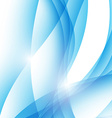 Modern abstract wave border ray line background vector image