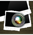 Photography background vector image vector image