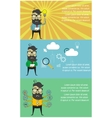programmer and process coding vector image vector image
