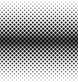 Repeating monochrome square pattern vector image vector image