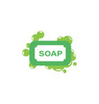 soap icon design template isolated vector image