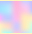stylish holographic background vector image