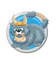 Taurus Cat vector image vector image