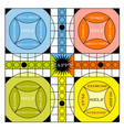 vintage game board vector image vector image