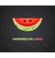Watermelon logo design vector image vector image