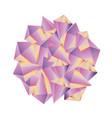 Abstract decorative shape gemstone background