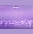 abstract of mesh colorful violet with bokeh vector image