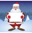 Best cartoon Santa Claus vector image