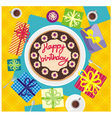 card happy birthday vector image