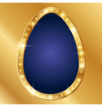 Flash banner Easter vector image