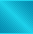 geometric abstract halftone square pattern vector image vector image