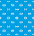 nose piercing pattern seamless blue vector image vector image