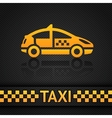 racing background template taxi cab backdrop vector image
