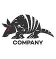 animal battleship logo vector image vector image