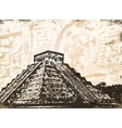Antique mayan pyramid vector | Price: 1 Credit (USD $1)