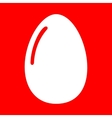 Chiken egg sign vector image vector image