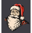 Portrait Santa Claus vector image vector image