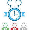 Time to Cook vector image vector image