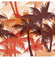 Tropical summer seamless print with palm