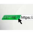 WEB security background vector image vector image