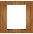 wooden background 1 vector image