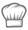 chef hat vector image vector image