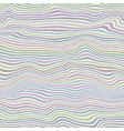 colorful striped pattern wavy colored ribbons vector image vector image