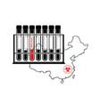 novel coronavirus - 2019-ncov wuhan virus concept vector image