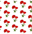 Seamless pattern with poppies flowers vector image vector image