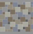 3d tile stone pattern floor 03 vector image vector image